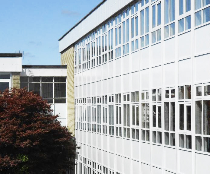 Asbestos scare in Cullybackey school, successful removal by Cleary Contracting Ltd.