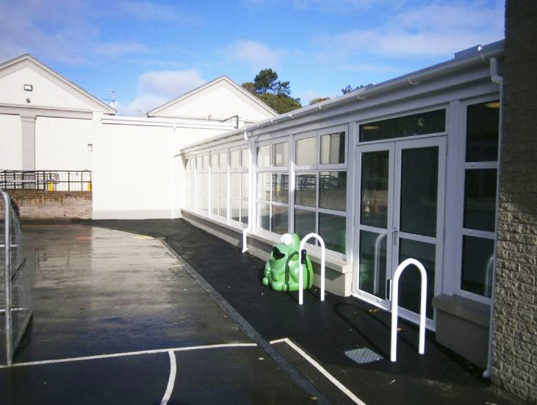 Ballycastle primary school massively improve disability access across the board, with local construction firm Cleary Contracting Ltd.