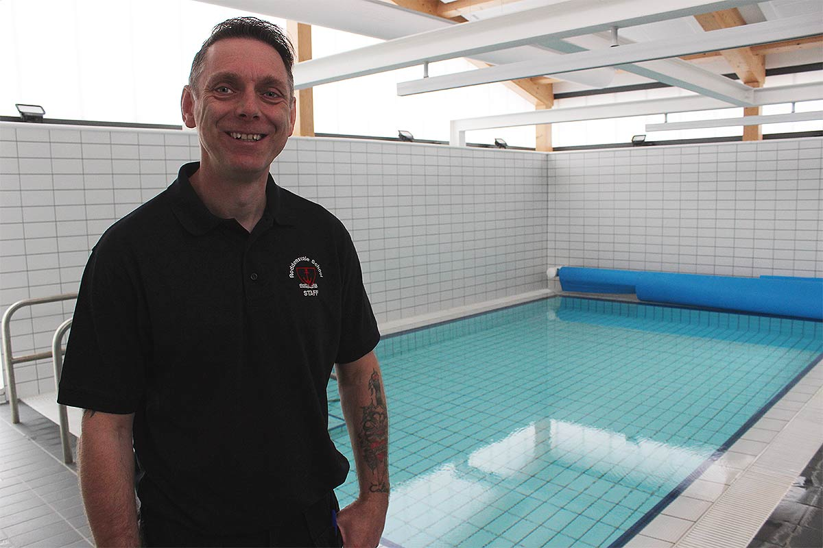 Roddensvale School's new £950,000 hydrotherapy pool