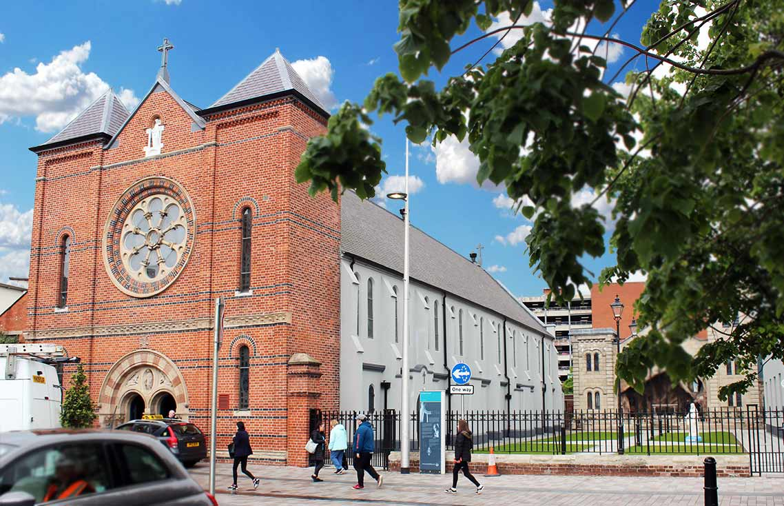 belfast oldest church